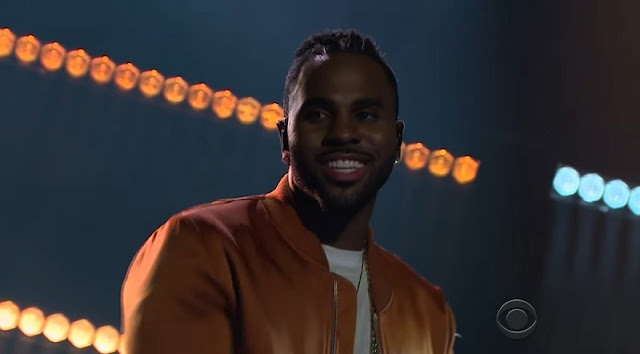 "Jason Derulo & Ty Dolla $ign Perform ""Swalla"" On Late Late Show"