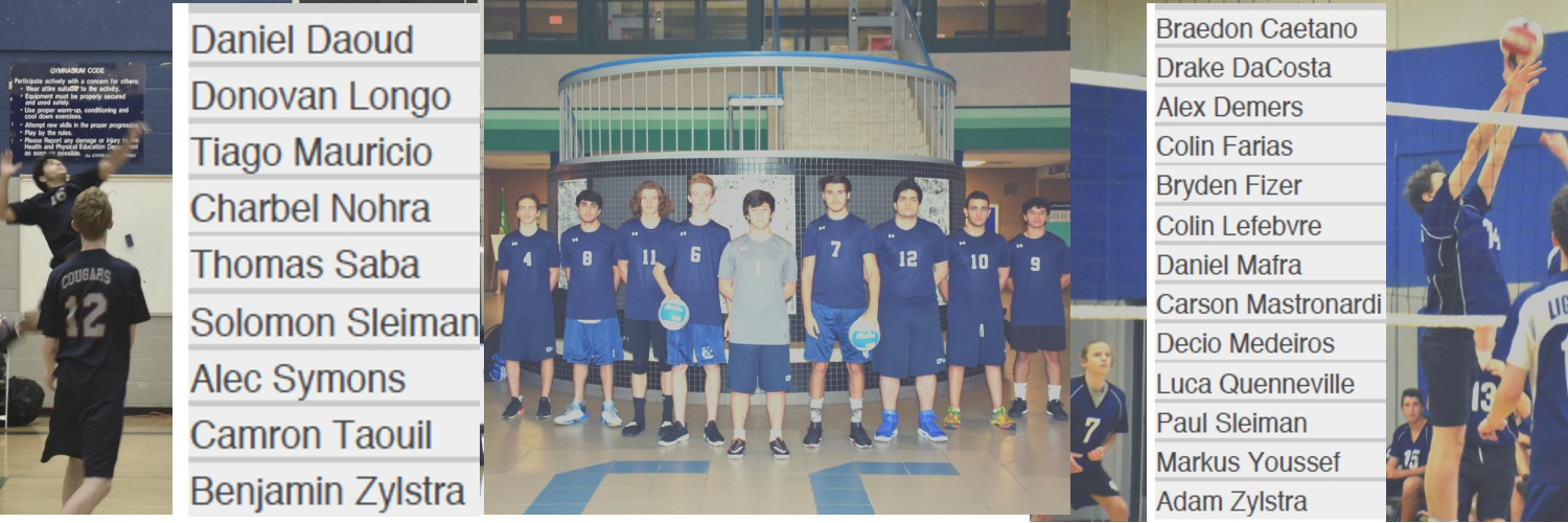 e446f9b6e4fea No one can questions the athletic capabilities of both the Junior and  Senior boys volleyball teams. What they lack in pure repetitions they make  up for in ...