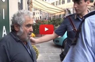 Anziano multato a Genova: Il video diventa virale