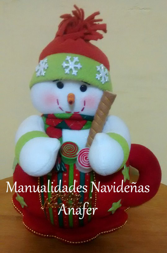 Manualidades navide as anafer for Ver manualidades navidenas
