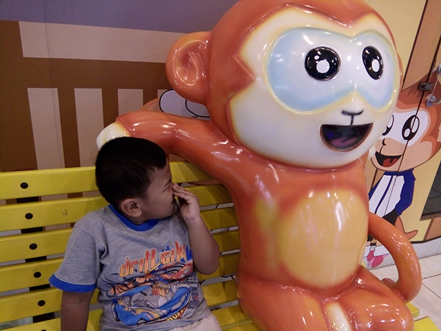 Nonton Dalang Pelo, Anak Saya Ngomong Monyet!!