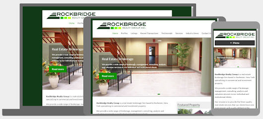 Digital Marketing Tips for Small Business: WordPress Site for Rockbridge Realty Group