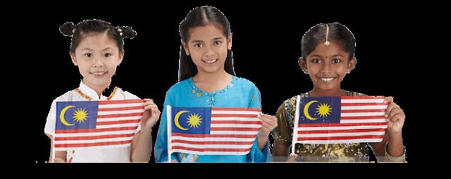 Melayu-cina-india