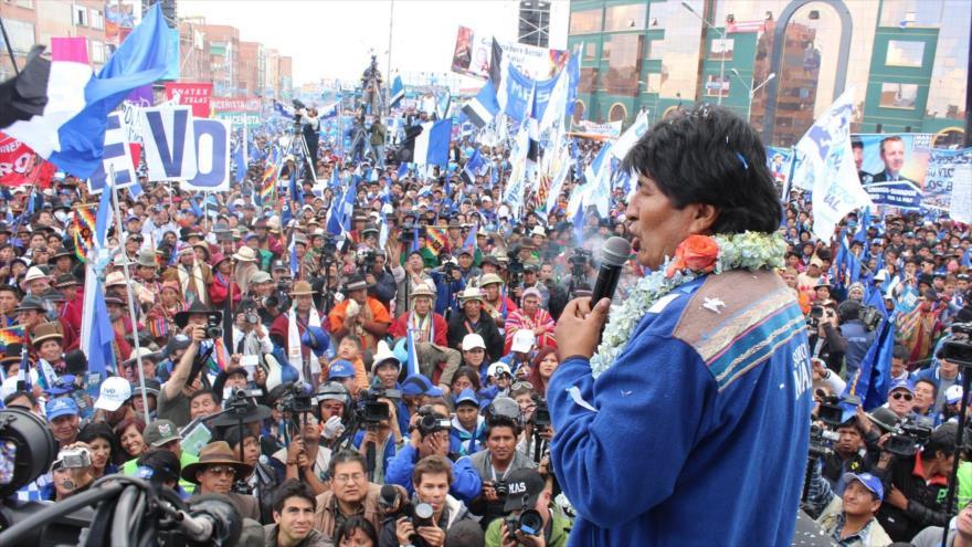 El propio Morales cree que su partido sin su figura