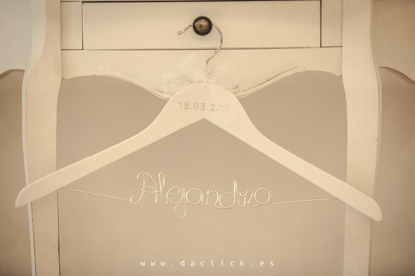 percha de boda personalizadas