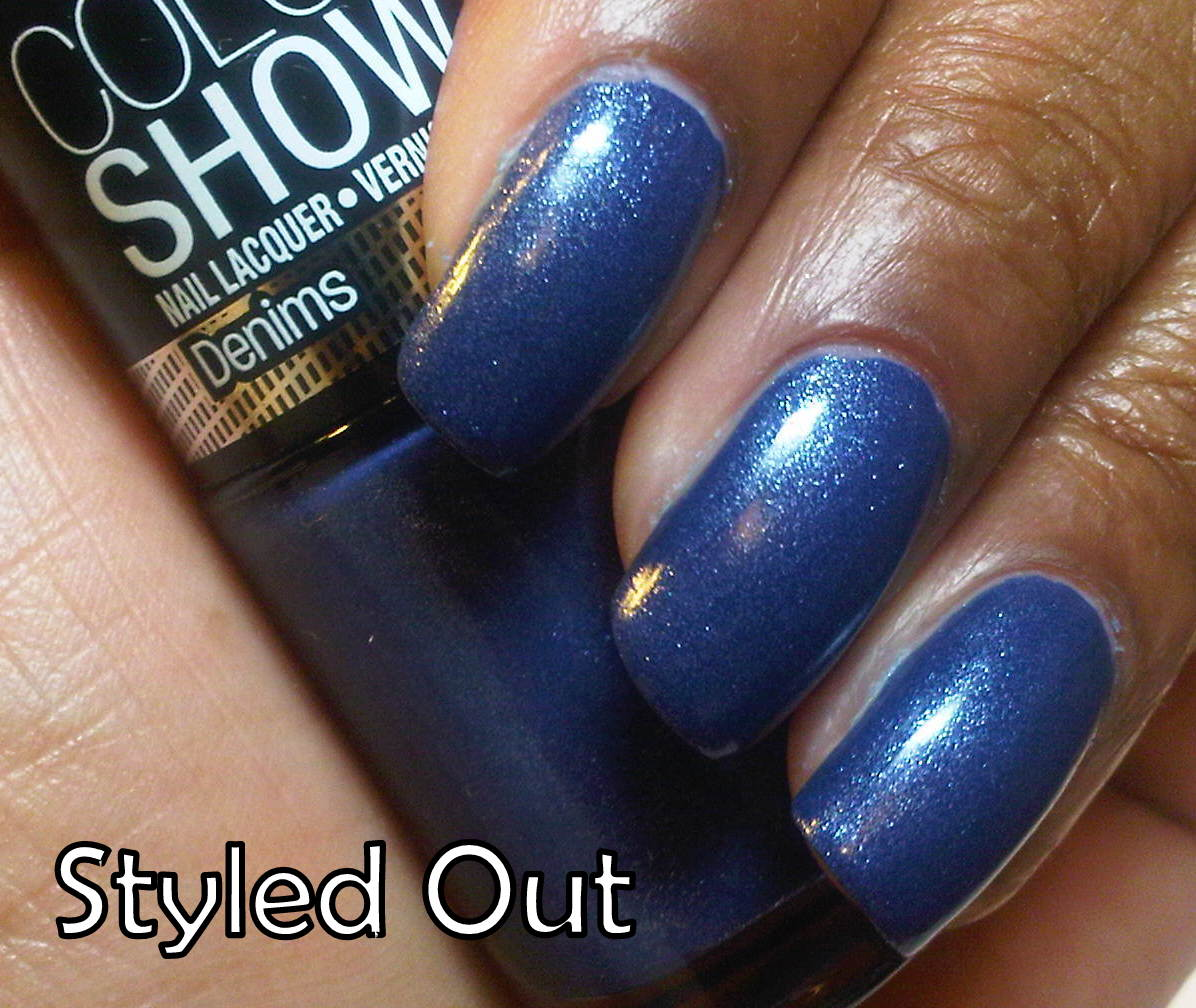 Shades of Beauty, Inc.: PRODUCT REVIEW: Maybelline Color Show Nail ...