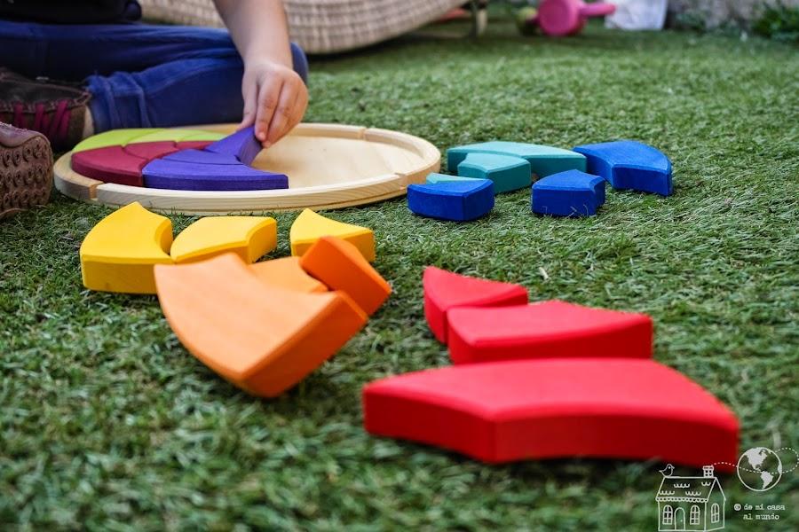 mandala waldorf juguete niños