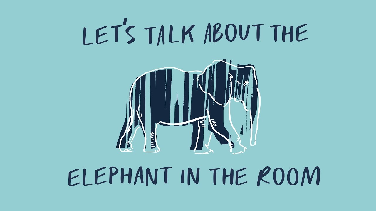 On Feeling Like The Elephant In The Room