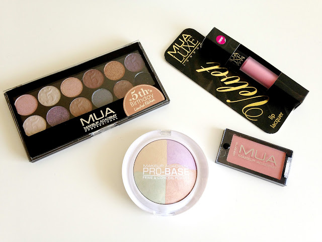 Free MUA Limited Edition Eyeshadow Palette