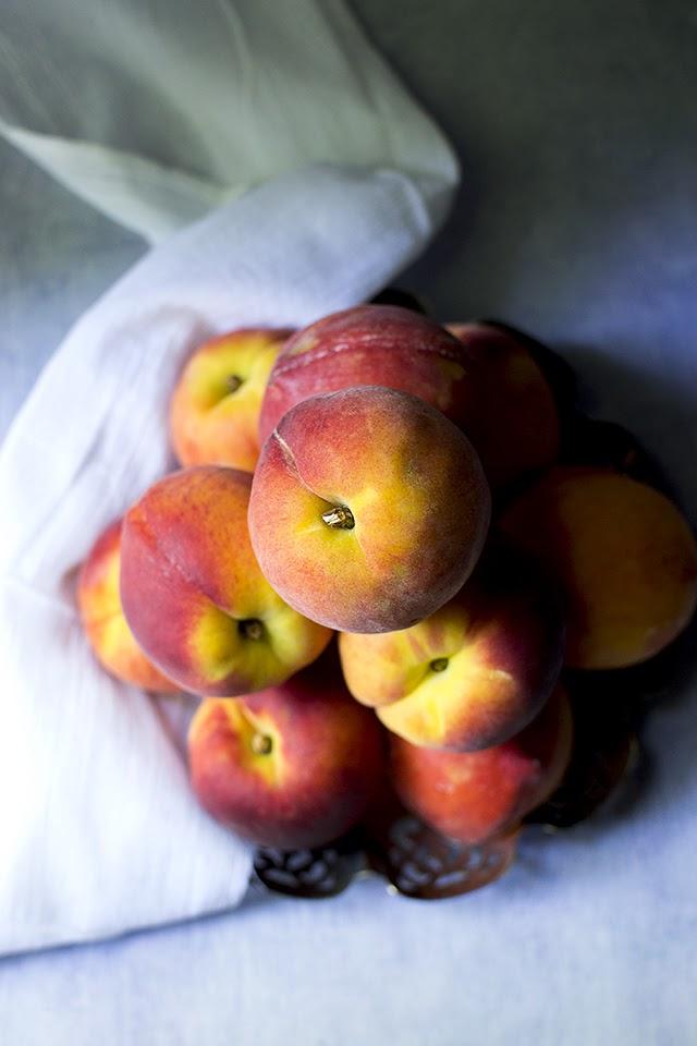 Egg free Peach Ice Cream