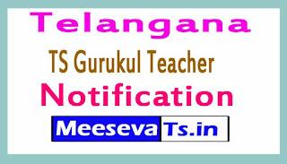 Telangana (TS) Gurukul Teacher Notification 2017