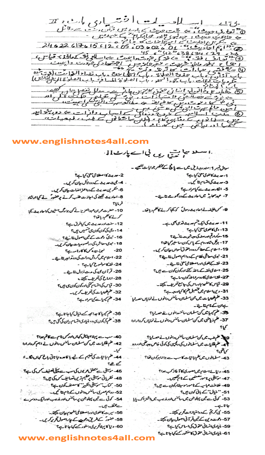 By Photo Congress || Ba Part 1 English Guess Paper 2018