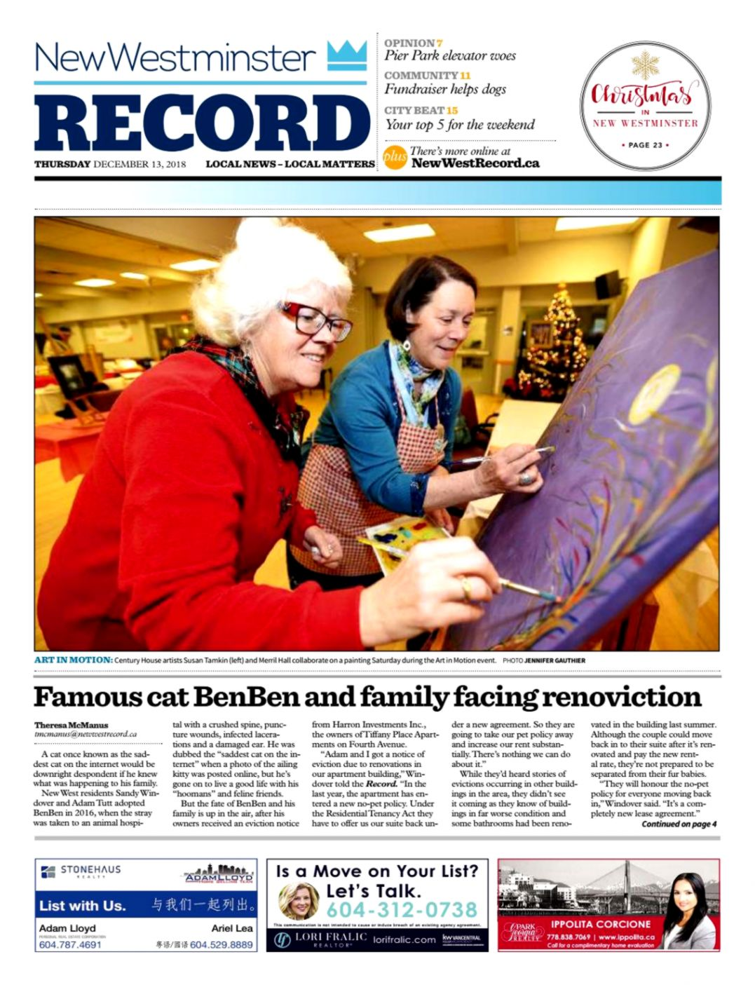 New Westminster Record December 13 2018 by Royal City Record issuu