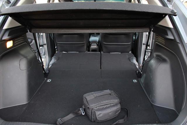 Honda HR-V EXL 2018 - espaço de bagagem