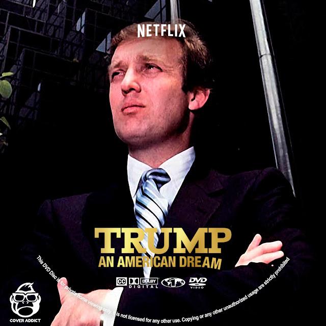 Trump: An American Dream DVD Label