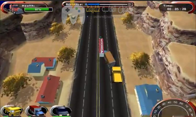 تحميل لعبة الشاحنات Mad Truckers للكمبيوتر