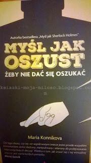 okładka książki Myśl jak oszust
