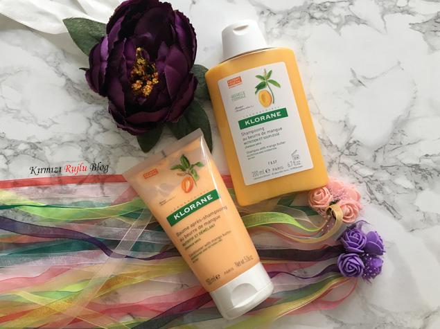 Klorane Mango Yağlı Şampuan ve Saç Kremi