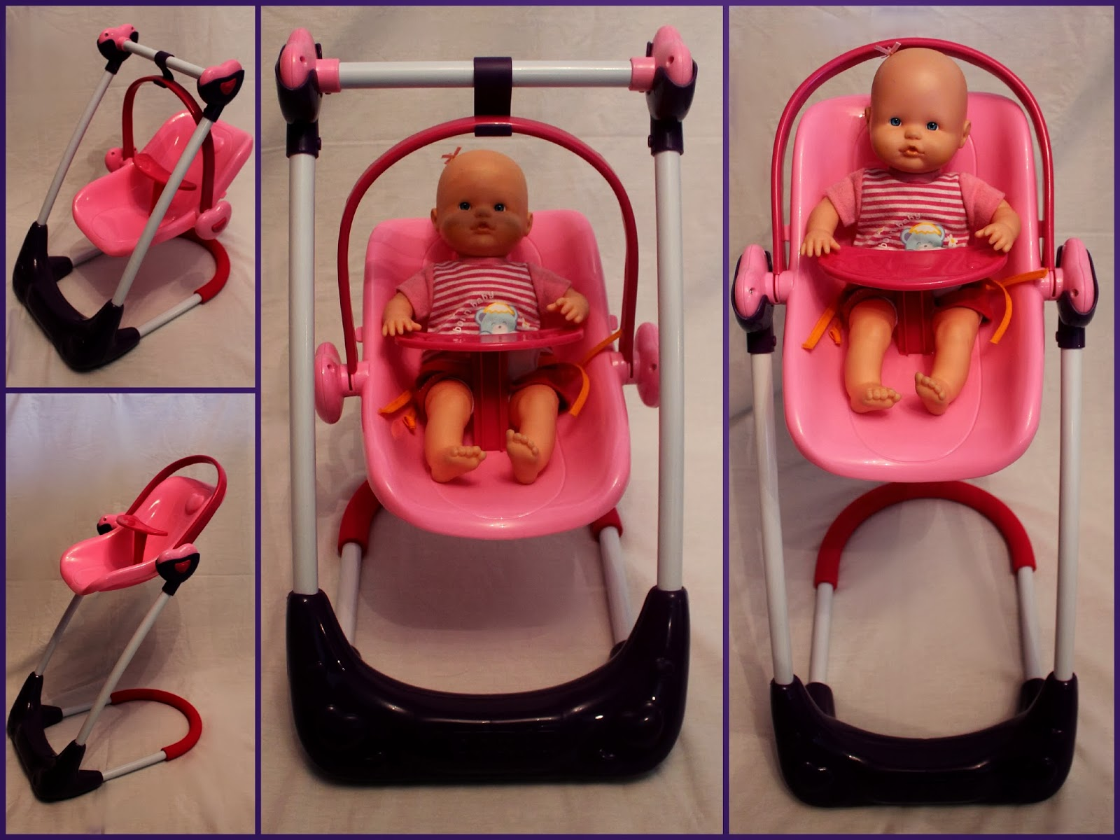 baby swing chair youtube unique office mats hauck heart 2 doll set thrifty nifty mommy
