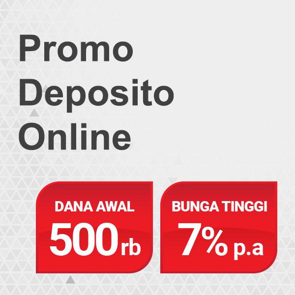 deposito Rp500 ribu