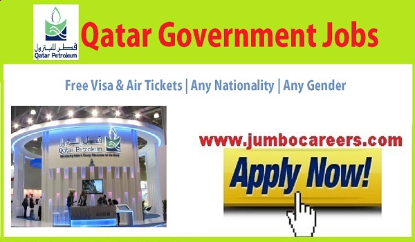 Petroleum company jobs in Qatar for Expats, Qatar Government jobs with free visa and air ticket,