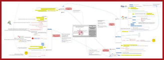 Acne vulgaris mind map