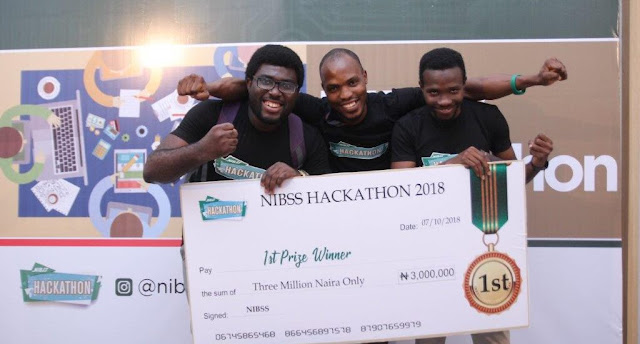 Winners Emerge in NIBSS Hackathon Challenge 2018