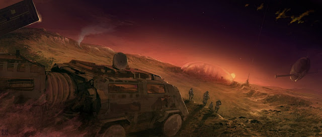 Warna merah planet Mars