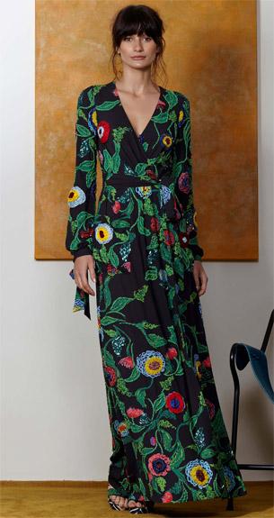 PatBO Verão 2017 vestido com mangas longas e bordados com pinturas