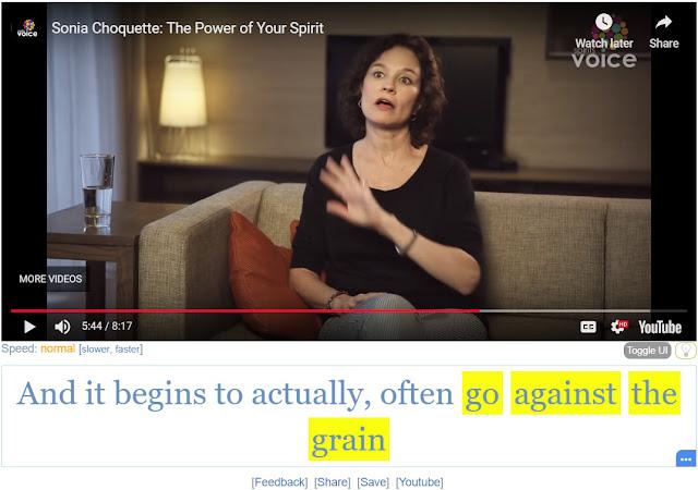 Idiom Go Against the Grain
