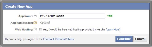 MVC 4: facebook twitter login with oAuth   dotnetExpertGuide com
