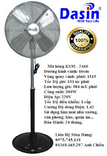 Quạt đứng KSM-2460