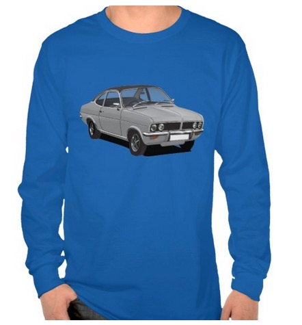 vauxhall, firenza, image, t-shirt, automobiles
