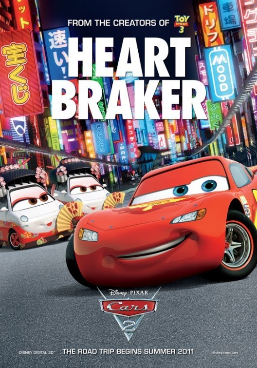 Cars 2 New Movie Posters : Teaser Trailer