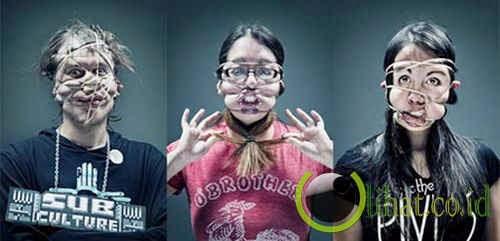 Rubber Band - Wajah Karet Gelang