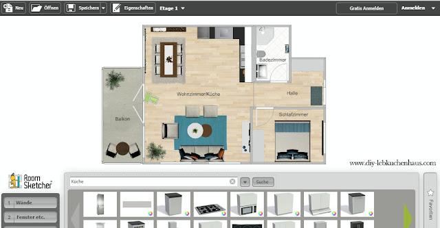 Wohnung Einrichten Online Mit 3d Raumplaner Grundriss