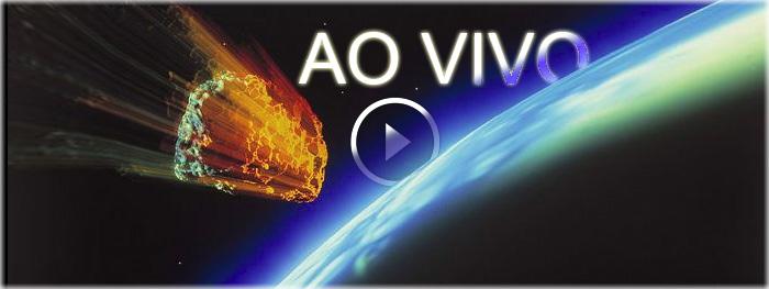 ao vivo - queda do asteroide no dia 13 de novembro