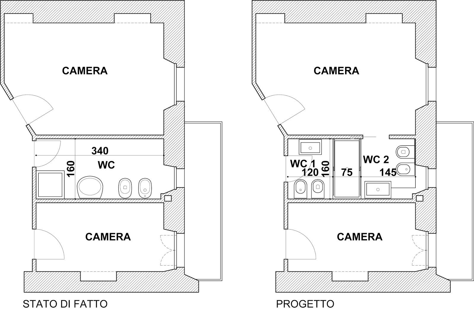 appunti di architettura: Qualche trucco per creare un nuovo bagno o ...