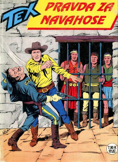 Pravda za Navahose - Tex Willer