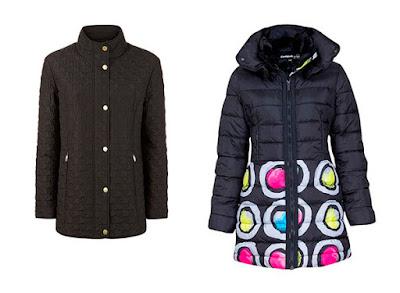 Прямая куртка и куртка с баской