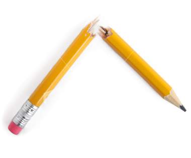 how to fix broken wax pencils