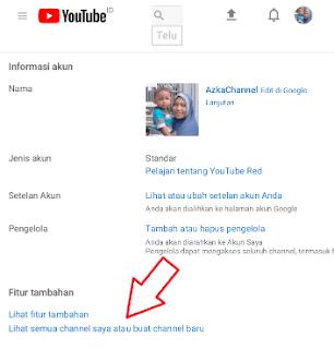 Buat channel baru