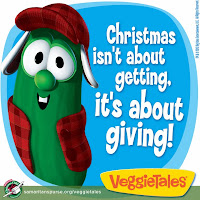 Veggie Tales, Samaritan's Purse, Operation Christmas Child