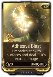 Adhesive Blast WARFRAMEPS4