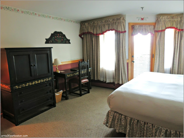 Deluxe Room del Trapp Family Lodge en Vermont