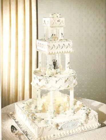 Wilton Wedding Cake Stairs
