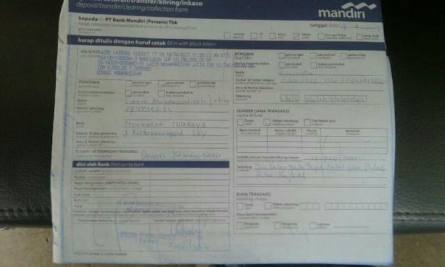 Hasil Perolehan langsung di transfer ke Lazismu Jawa Timur