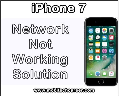iphone, repair, how to fix, repair, solve, Apple iPhone 7, no, weak, network, not working, faults, problems, solution
