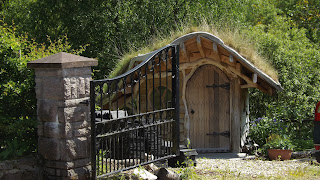 Hobbit házikó Skóciában