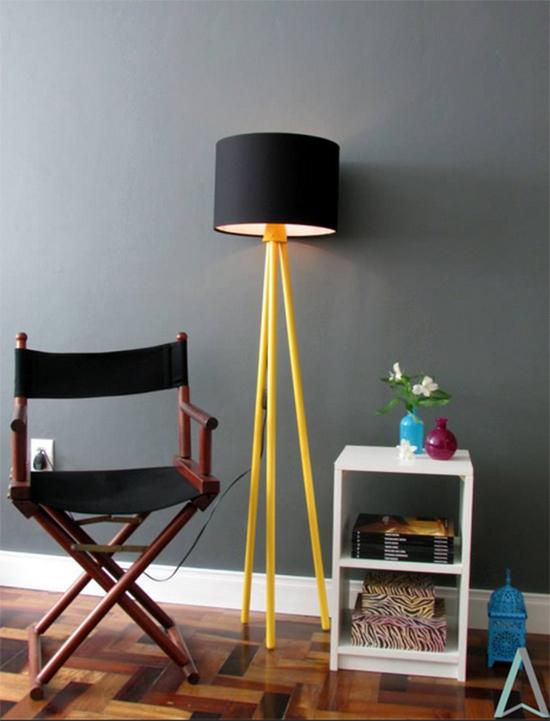 luminária, broom upcycle, broom recycle, cabo de vassoura, reciclar vassoura, faça você mesmo, diy, reciclagem, upcycling, acasaehsua, a casa eh sua
